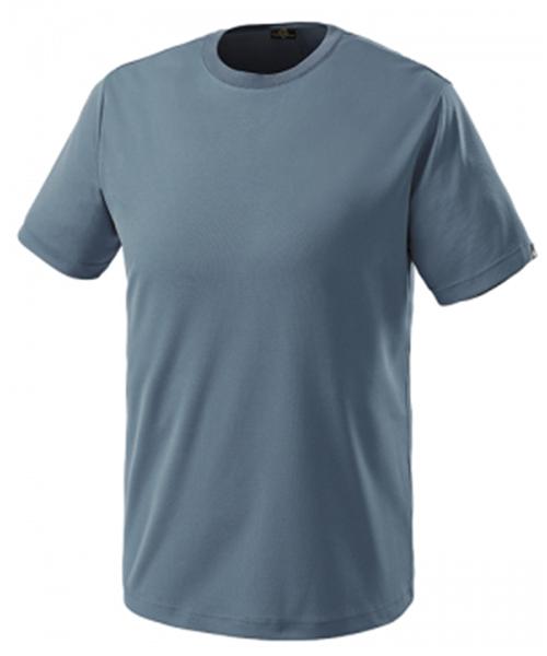 MT-206 쿨론 라운드 티셔츠(그레이블루:춘하:반팔)