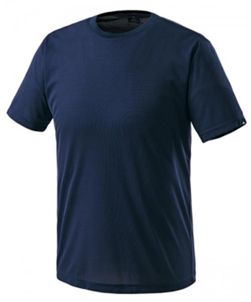 MT-207 쿨론 라운드 티셔츠(네이비:춘하:반팔)
